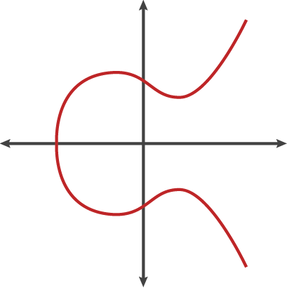 The elliptic curve